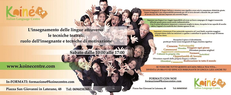Workshop for Teachers L2/LS - Poster